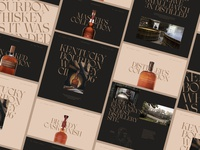 Woodford Reserve II whiskey and branding whiskey website branding alcohol branding alcohol minimal store design e-commerce ui design store landing page ux ui web  design typography