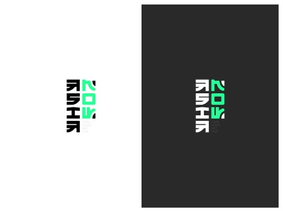 Asia Now // Logo concept visual identity logo design logotype brand identity brand design brand flat typography branding vector logo design