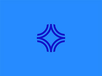 True North Logo abstract compass north magnetic flux line star design icon illustration vector branding logo true north