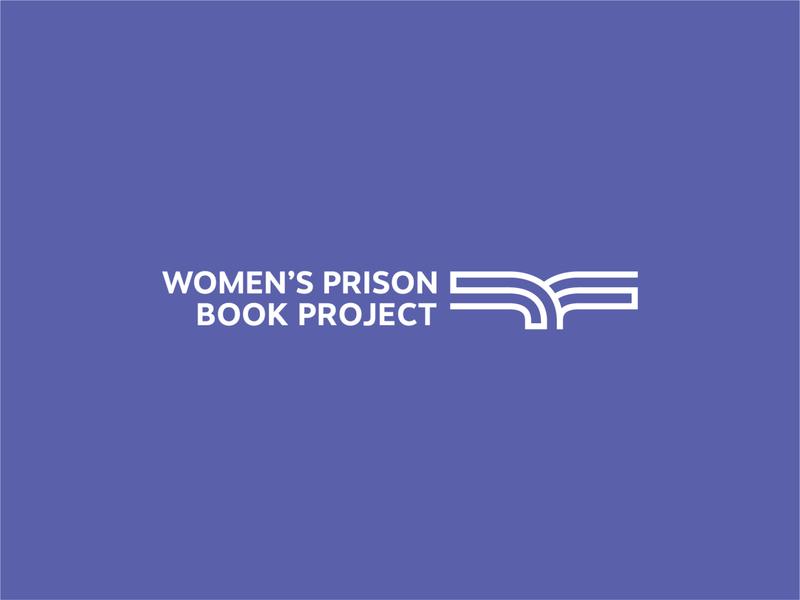 Women Prison Book Project Logo icon abstract illustration vector branding logo path bird book