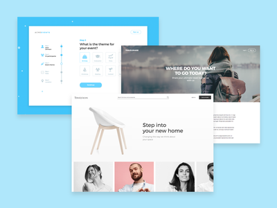 Interactive web designs made with Justinmind web design minimalist ui-ux design interaction design ux design ux ui design ui