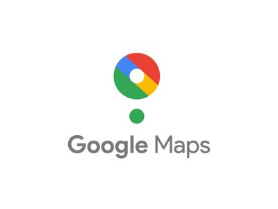 Google Maps Logo Redesign website adobe branding animation vector illustration product design illustrator typography google maps