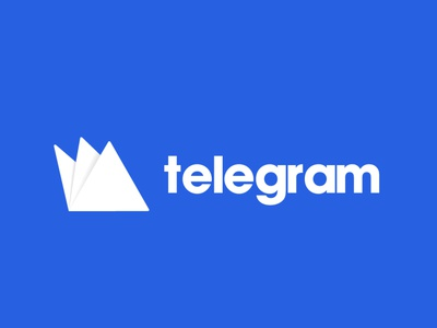 TELEGRAM LOGO DESIGN CONCEPT website adobe branding animation vector illustration product design illustrator typography telegram
