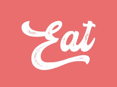EAT TYPOGAPHY website adobe branding animation vector illustration product design illustrator typography