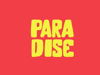 Paradise Kids Clothing Store logo concept adobe branding animation vector illustration product design illustrator typography kids illustration clothing kids