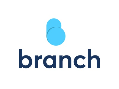 BRANCH LOGO  DESIGN  CONCEPT page website adobe branding animation vector illustration product illustrator typography