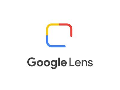GOOGLE LENS SIMPLIFIED LOGO website adobe branding animation vector illustration design product illustrator typography googlelens