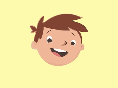 KIDS SHOW ILLUSTRATIN logo page website adobe branding animation vector illustration illustrator typography