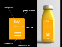 Flaw Juicing Company Design Concept