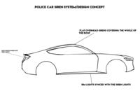 Police Car Siren Design Concept