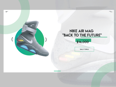 Nike Shoes Website Design Concept Airmags