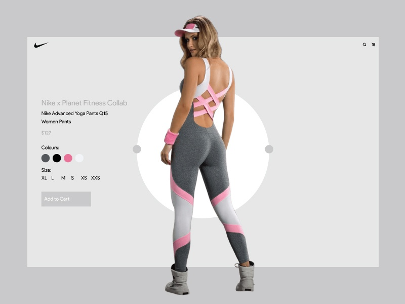 Nike Planet X Yoga Pants Collab Homepage Dribbble Upload by Halfwave