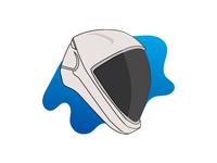 Space X Helmet