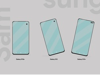 Samsung Galaxy New Phones Illustration