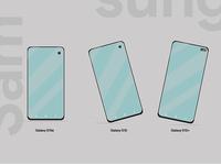 Samsung Galaxy New Phones Illustration