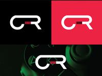 Fictional Gaming Academy Logo Design Concet
