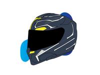 Black Panther Inspired helmet design concept