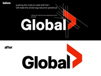Global Tv Logo Slight  Redesign