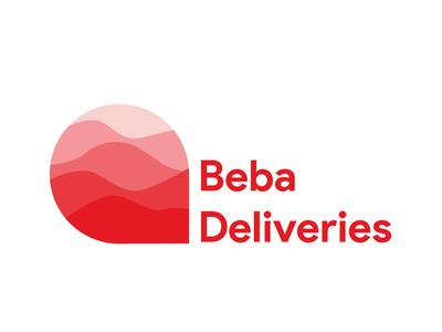Beba Delivery Company logo design concept