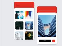 Simple Wallpaper App Design Concept