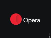 Opera logo redesign concept