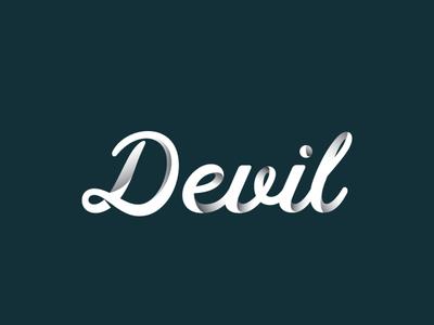 DEVIL TYPOGRAPHY website adobe branding animation illustration vector product design typography illustrator
