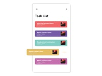 TASK LIST MANAGER APP CONCEPT