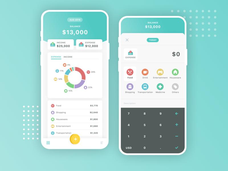 Daily UI 004   Calculator ux ui design app