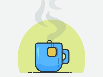 Cup Of Tea -  Quick illustrations