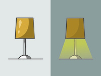 My Lamp -  Quick illustrations