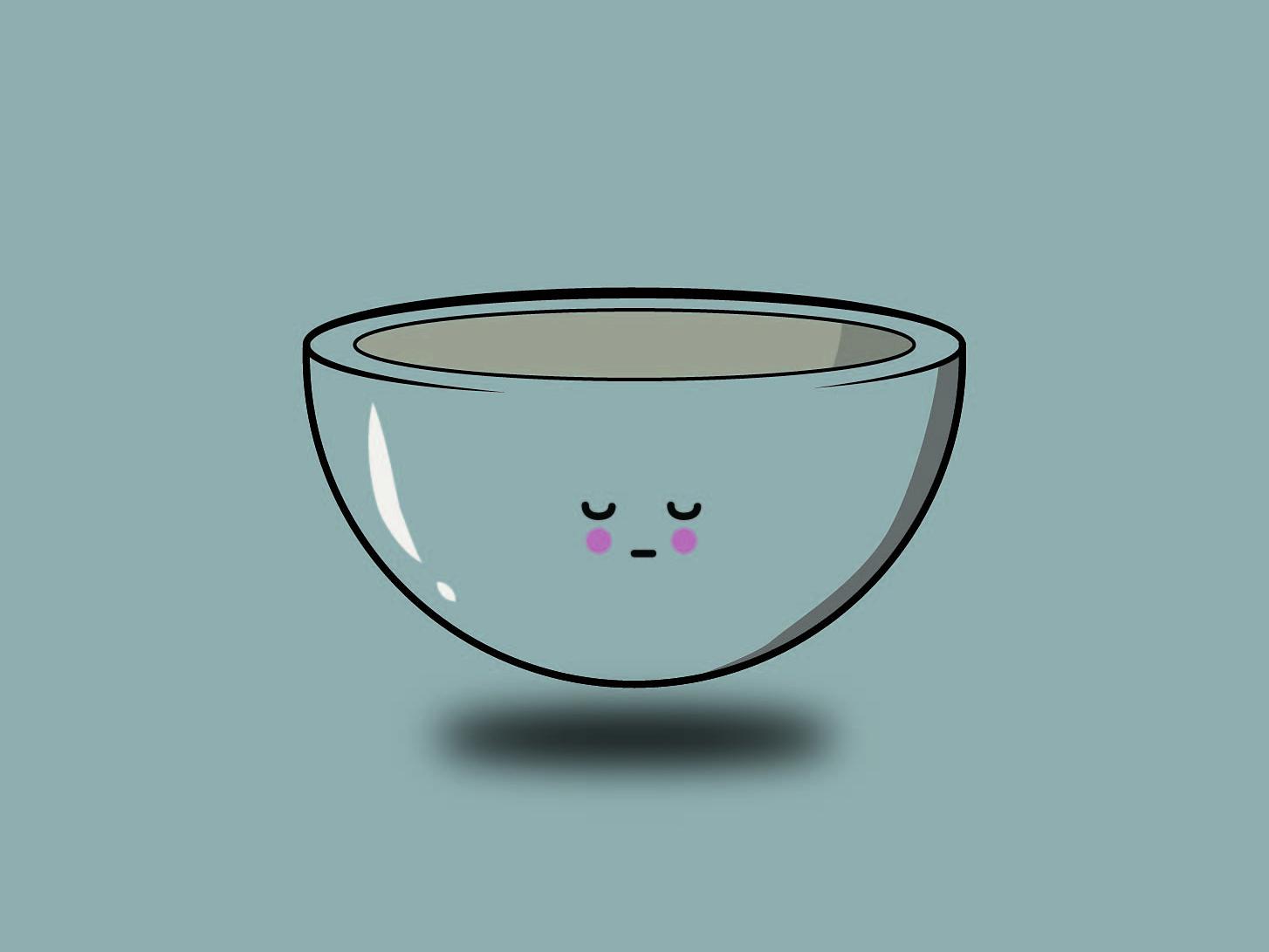 Bowl -  Quick illustrations graphics graphicdesign illustrator vector illustration design