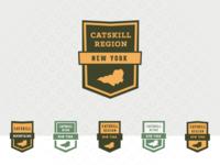 Catskill Mountain Badges