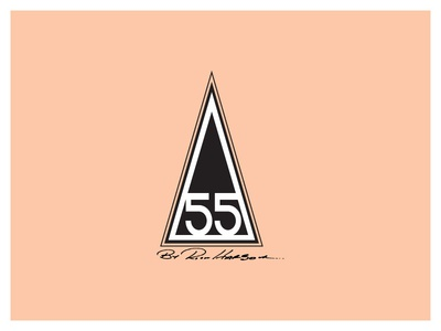 "Harbour Surfboards ""55 Year Anniversary logo"