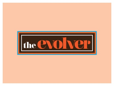 "Harbour Surfboards  ""The Evolver"" board branding"