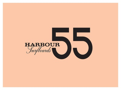 Harbour Surfboards 55yr. anniversary logo