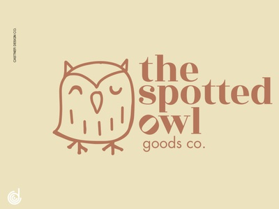 The Spotted Owl Goods Co. Logo