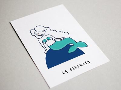 La Sirenita vectorial vector spain information infographic illustration graphics design