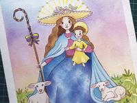 Virgen Divina Pastora Studiovane