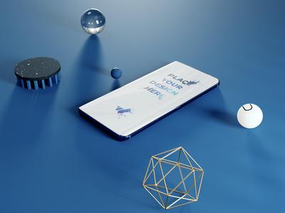 Classic blue phone