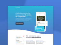Education App Landing Page
