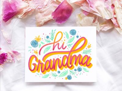Hi Grandma