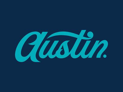 Austin Script texas austin texas austin custom typography script lettering vector typography type graphic design design