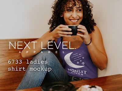 Next Level Tri-Blend Women's Tank Mockup