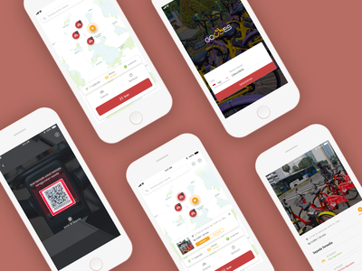 Gowes App - Redesign ui design mobile app design ios design design app apps design app ux ui ui  ux design design