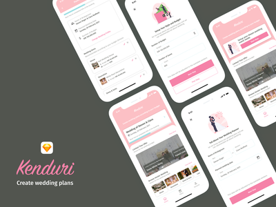 Wedding Planner App wedding design wedding app weddings wedding ios design mobile app ui design mobile app design design app apps design design ux ui ui  ux design