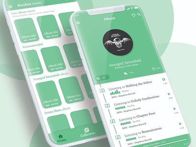 Music Apps Design iphonex ios 10 ux uiux designer ui designer ui design mobile ui design design app web portofolio illustration flat apps design app ios design ui ui  ux design mobile app design mobile app design