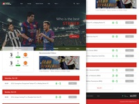 Redesign Website Streaming Football