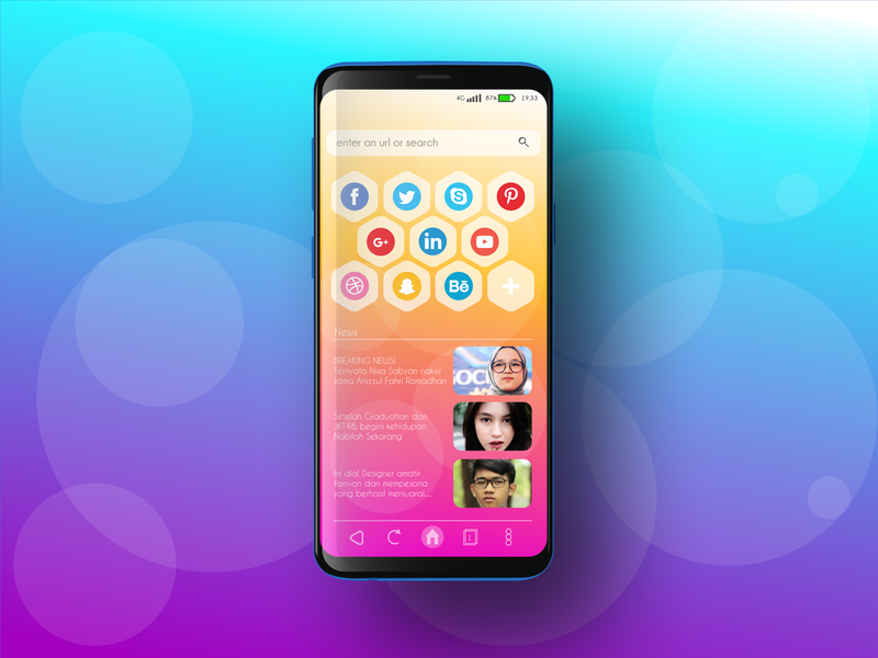 Browser App UI browserapp browser app mobileapp uidesign ux  ui ux ui
