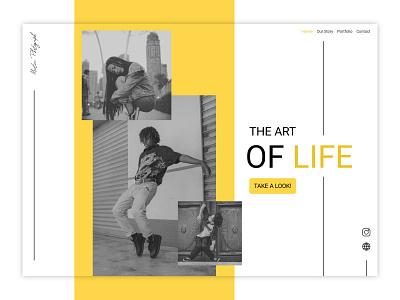 Martin Photograph Web UI Dashboard ui design minimalist webui design websiteui uidesign ux  ui photography website design web design website webdesign web uiux ui