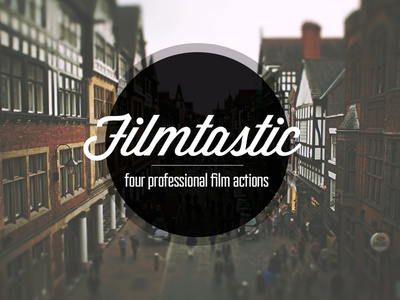 Filmtastic photoshop film action free